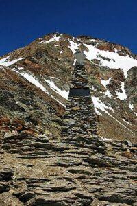 Памятник ледяному человеку Этци